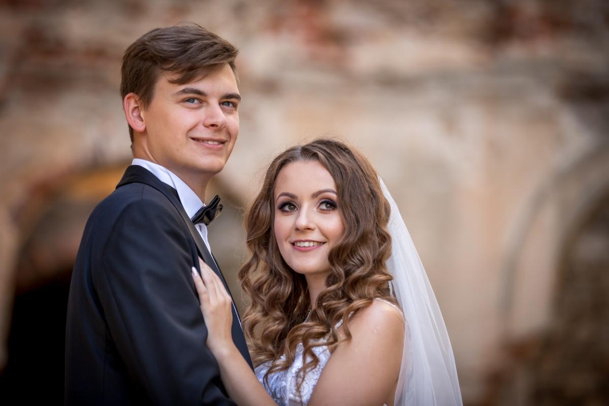 Sesja ślubna na zamku Krzyżtopór